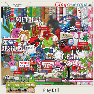 Play Ball by Clever Monkey Graphics