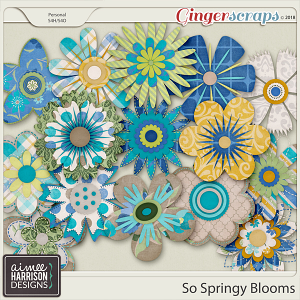 So Springy Blooms by Aimee Harrison