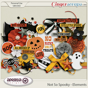 Not So Spooky - Elements by Aprilisa Designs