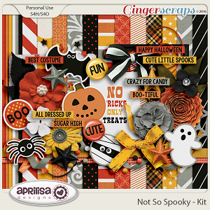 Not So Spooky - Kit by Aprilisa Designs