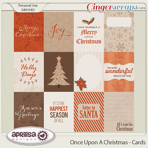 Once Upon A Christmas - Cards