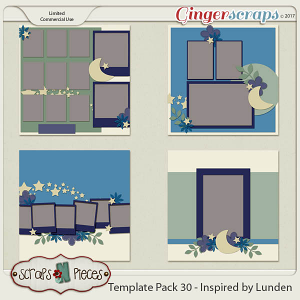 Template Pack 30 - Inspired by Lunden
