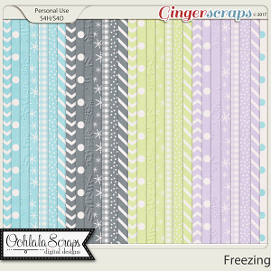 Freezing Pattern Papers