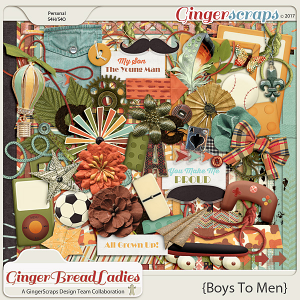 GingerBread Ladies Collab: Boys To Men
