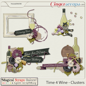 Time 4 Wine - Clusters