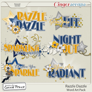 Razzle Dazzle - Word Art
