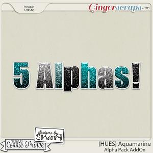 {HUES} Aquamarine - Alpha Pack AddOn