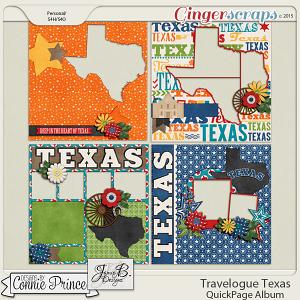 Travelogue Texas - QuickPage Album