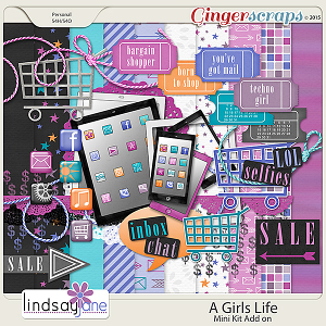 A Girls Life Mini Add On by Lindsay Jane