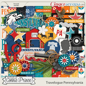 Travelogue Pennsylvania - Kit