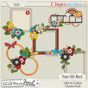 Project 2014 March: Life In Color - Cluster Pack