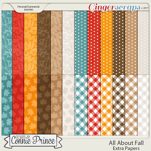 All About Fall - Extra Papers