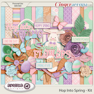 Hop Into Spring - Kit by Aprilisa Designs