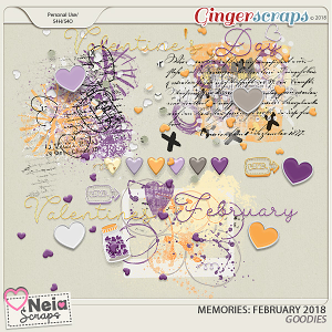 Memories: February 2018 - Goodies - by Neia Scraps