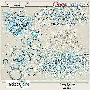 Sea Mist Scatterz by Lindsay Jane