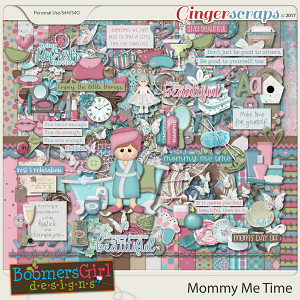 Mommy Me Time by BoomersGirl Designs
