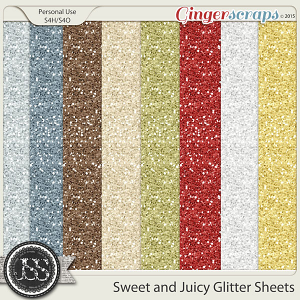 Sweet And Juicy Glitter Sheets