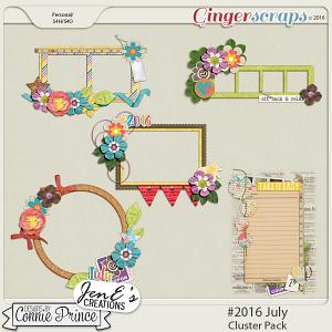 #2016 July - Cluster Pack