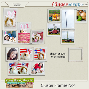 Cluster Frames No4 by Clever Monkey Graphics