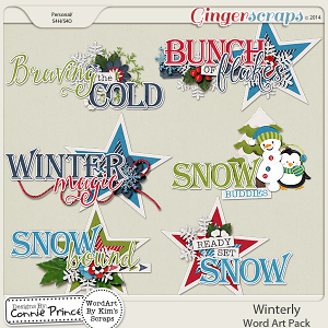 Winterly - WordArt Pack