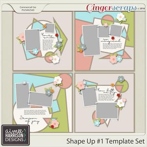 Shape It #1 Templates by Aimee Harrison