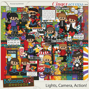Lights, Camera, Action! by BoomersGirl Designs