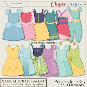Princess for a Day (bonus elements)
