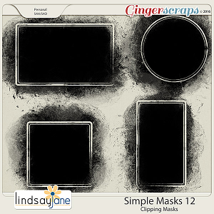 Simple Masks 12 by Lindsay Jane