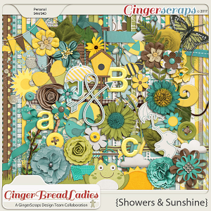 GingerBread Ladies Collab: Showers & Sunshine