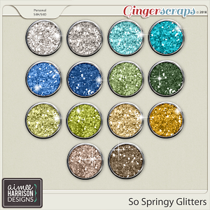 So Springy Glitters by Aimee Harrison