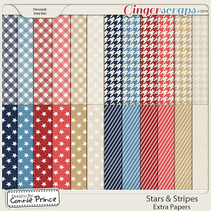 Stars & Stripes - Extra Papers