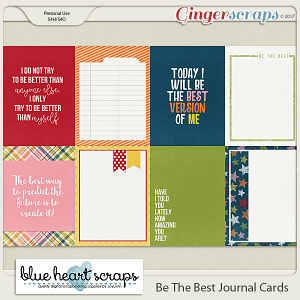 Be The Best Journal Cards