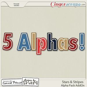 Stars & Stripes - Alpha Pack AddOn