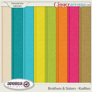 Brothers & Sisters - Krafties by Aprilisa Designs