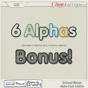 Retiring Soon - School Blues - Alpha Pack AddOn
