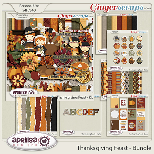 Thanksgiving Feast - Bundle by Aprilisa Designs