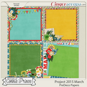 Project 2015 March - PreDeco Papers