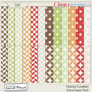 Retiring Soon - Home Cookin' - Extra Paper Pack