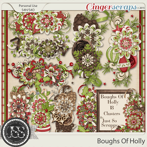 Boughs Of Holly Clusters