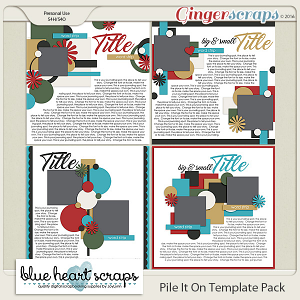 Pile It On Template Pack