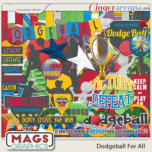 Dodgeball For All KIT by MagsGraphics