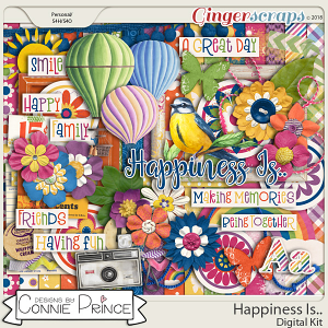 Happiness Is.. - Kit by Connie Prince