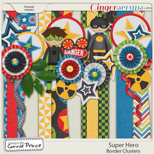 Super Hero - Border Clusters