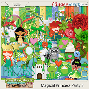 Magical Princess Party 3 by Clever Monkey Graphics