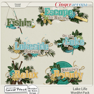 Retiring Soon - Lake Life - Word Art