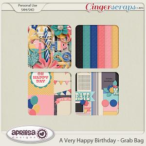July Grab Bag - A Very Happy Birthday