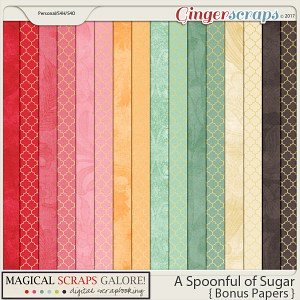 A Spoonful of Sugar (bonus papers)