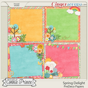 Spring Delight - PreDeco Papers