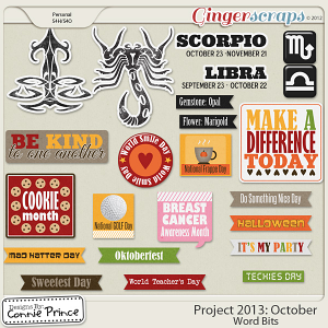 Project 2013:  October - WordBits