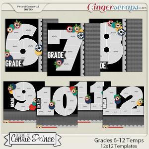 Grades 6th Grade - 12th Grade - 12x12 Temps (CU Ok)